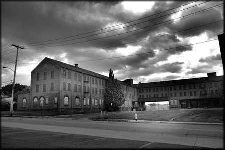 20th century: Semi active mid 20th century factory buildings, Ashland Ohio Stock Photo