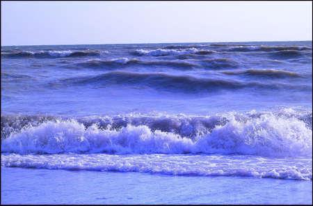 choppy: Crashing waves in Courtice Ontario