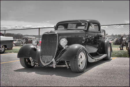 coupe: 1933 Ford Coupe Editorial