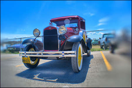 'pick up': 1931 Ford Pick up Editorial