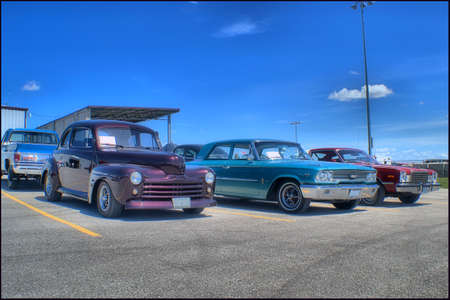 coupe: 1947 Ford Coupe, 1963 Ford Galaxie 1978 Plymouth Volare Editorial