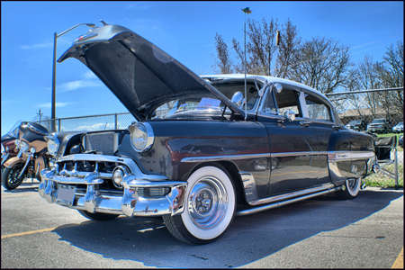 bel air: 1953 Chevrolet Bel Air Editorial