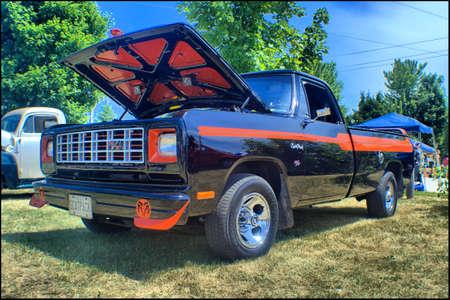 dodge: Dodge Custom truck Editorial