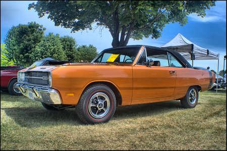 dodge: 1969 Dodge Dart Swinger Editorial
