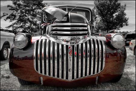 1946 シボレー ピックアップ 写真素材 - 80740346