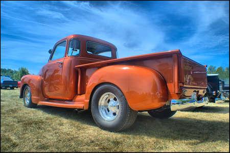 古典的なシボレー トラック 写真素材 - 80740379