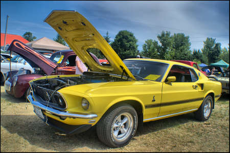 1969 Ford Mustang Mach 1 Editorial