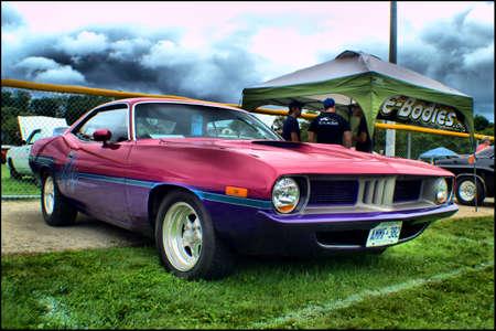 1974 Plymouth Cuda Pro Street Editorial