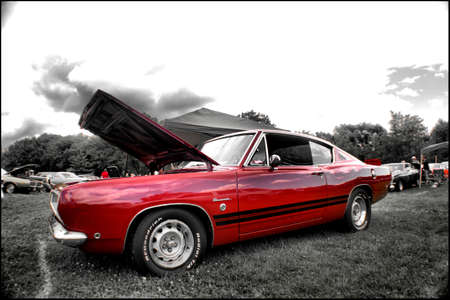 1968 Plymouth Barracuda Formula S Stock Photo