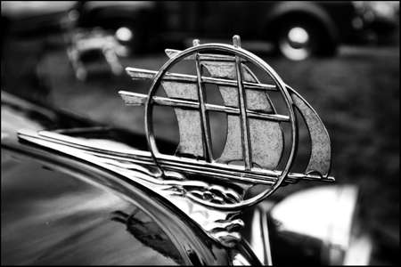 Plymouth hood ornament Editorial