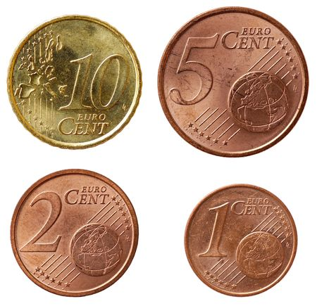 coinage: Full set of euro coins in high resolution - part 2
