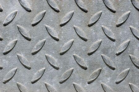 no skid: No skid surface of brushed metal pattern
