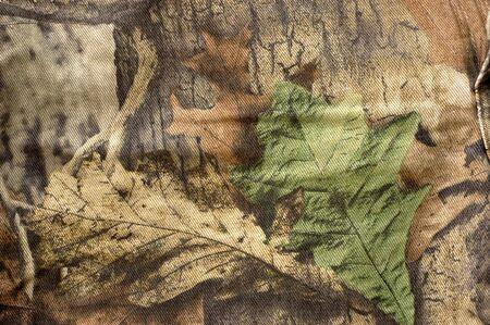 Jeans de tela de camuflaje patrón