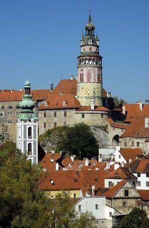 cz: Magical old town Cesky Krumlov in Bohemia