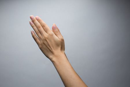 manos orando: Manos que oran Foto de archivo