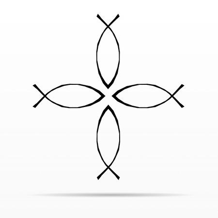 pez cristiano: Símbolo cristiano de los pescados