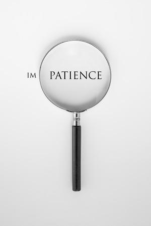 paciencia: Paciencia