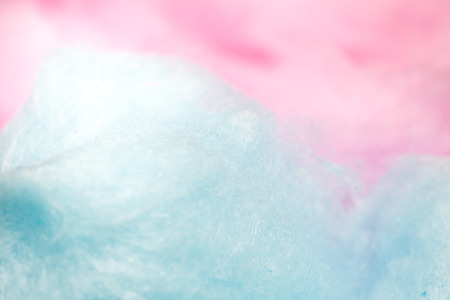 colorful cotton candy in soft color for background