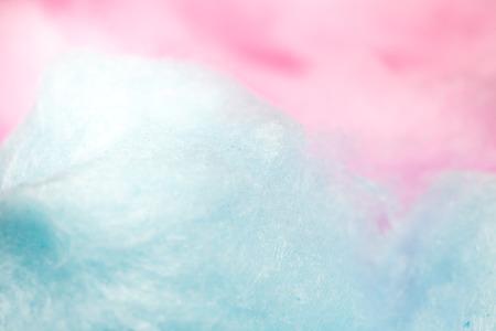 candies: colorido algodón de azúcar en color suave para el fondo