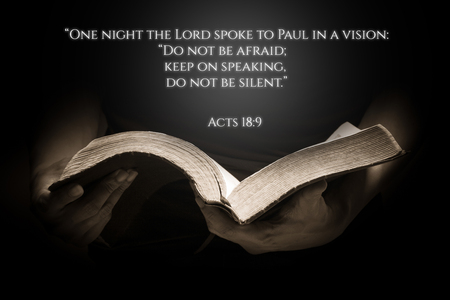 verse: Vintage Bible Verse Background with the Bible