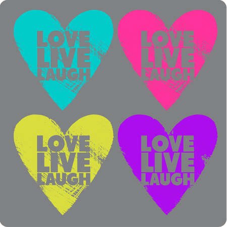 Herzen neon