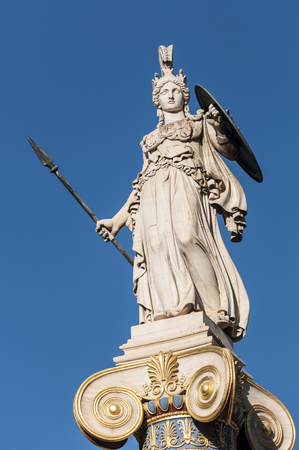 athena: classical Athena statue