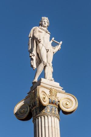 classical Apollo statue