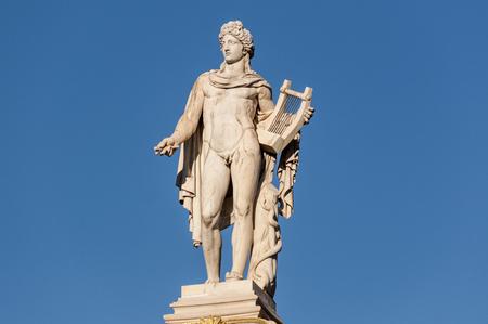 classic Apollo statue Stock Photo