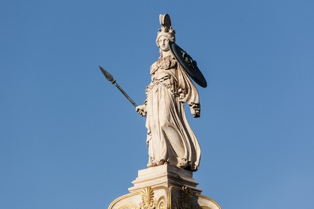 classic statue of athena Stock Photo