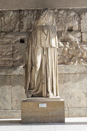 cult statue of apollo patroos Zdjęcie Seryjne