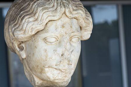 bust of female greek goddess posible persephone