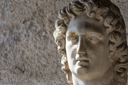 bust of greek god of light helios Zdjęcie Seryjne