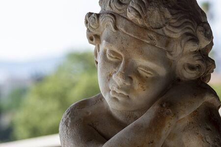 Head of small god of love eros