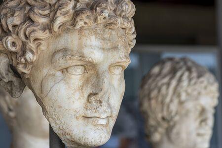 bust of female greek unknown woman