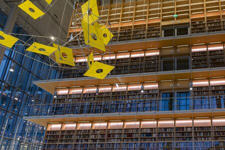 New modern public library - education and information place