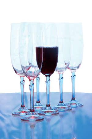 wineglasses: wineglasses Stock Photo