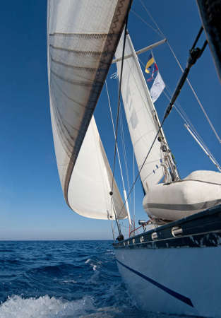 Sailing boat in the sea Stock Photo - 7470908