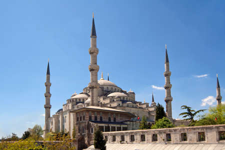 Mosque in Istanbul, Turkey photo