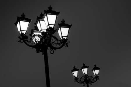 Lanterns at night Stock Photo - 8384018
