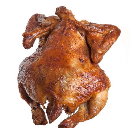 pollo rostizado: Gallina a la parrilla