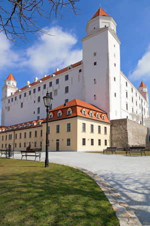 stary: Stary Hrad - ancient castle in Bratislava, Slovakia