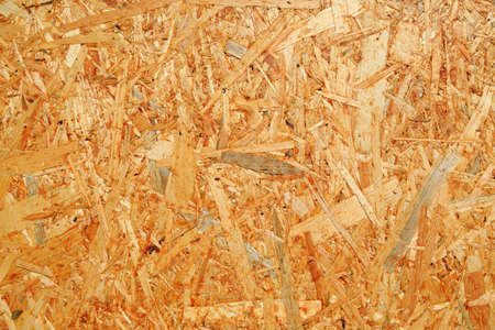 Particleboard background made from used wood