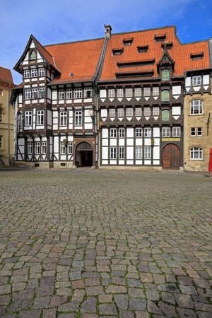 half timbered: Old timbered houses in Braunschweig, Germany