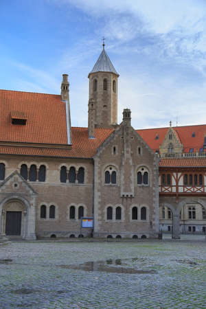 Square near Braunschweig cathedral, Germany
