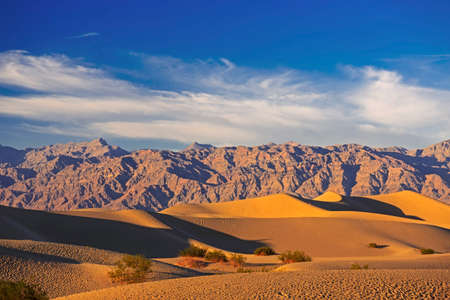Sand dunes near Death Valley, California, USA