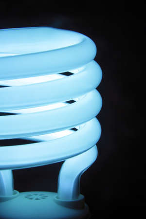 Energy saving compact fluorescent lamp photo