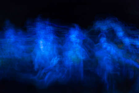 fata morgana: Colorful blurred image symbolizing dreams, nightmares and ghostly apparitions