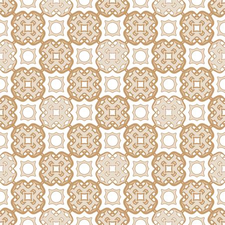 Arabesque ismalic beige pattern.