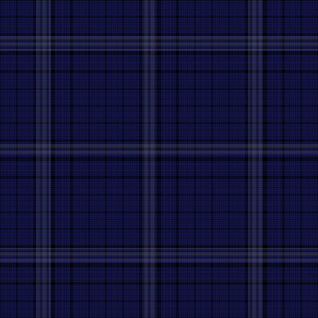 Seamless tartan pattern vector illustration for your traditional Scottish design. Minimal style abstract geometry background decoration in cold colors