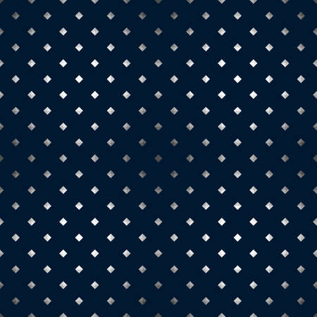 Dark geometry seamless simple pattern for your abstract background design. Vector textured illustration for optical illusion Çizim
